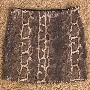 Bebe Sequence Mini skirt